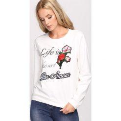 Bluzki damskie: Biała Bluzka Par Amour