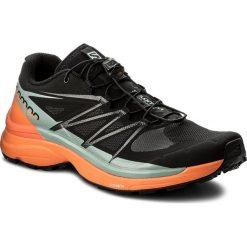 Buty SALOMON - Wings Pro 3 401471 27 G0 Black/Scarlet Ibis/Lead. Czarne buty do biegania męskie marki Salomon, z materiału, na sznurówki. W wyprzedaży za 379,00 zł.