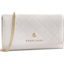 Torebka GUESS - SWGROL L9164 IVM. Białe torebki klasyczne damskie Guess, z aplikacjami, ze skóry ekologicznej. Za 559,00 zł.