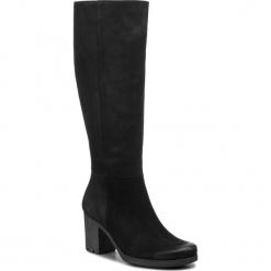 Kozaki LORETTA VITALE - 26115 Black N. Czarne buty zimowe damskie Loretta Vitale, z nubiku, na obcasie. Za 489,00 zł.