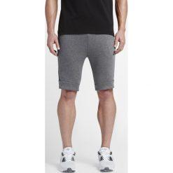 Spodenki Nike NSW Tech Fleece (805160-091). Brązowe spodenki i szorty męskie Nike, z bawełny. Za 189,99 zł.