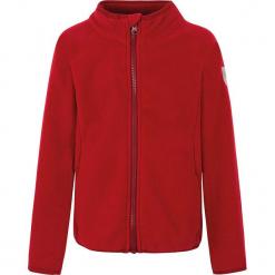 """Kurtka polarowa """"Mallory"""" czerwonym. Czerwone kurtki dziewczęce marki Reserved, z kapturem. W wyprzedaży za 62,95 zł."""