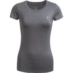 Koszulka treningowa damska TSDF600 - ciepły jasny szary - Outhorn. Szare bluzki z odkrytymi ramionami Outhorn, z materiału. W wyprzedaży za 29,99 zł.