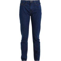Calvin Klein Jeans HIGH RISE SLIM Jeansy Slim Fit brook blue. Niebieskie jeansy damskie Calvin Klein Jeans, z bawełny. Za 449,00 zł.