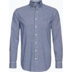 Gant - Koszula męska, niebieski. Niebieskie koszule męskie w kratę marki GANT, m, z bawełny. Za 379,95 zł.