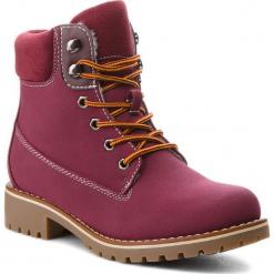 Trapery JENNY FAIRY - WS722-28A Burgundy. Czerwone buty zimowe damskie Jenny Fairy, z materiału. Za 129,99 zł.