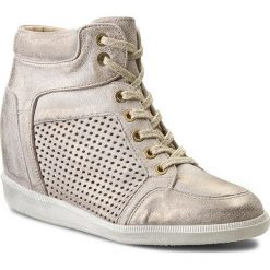 Sneakersy CARINII - B3349  Dave Met.6715. Brązowe botki damskie skórzane marki Carinii. W wyprzedaży za 249,00 zł.
