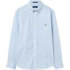 GANT THE BROADCLOTH BANKER Koszula persian blue. Niebieskie bluzki dziewczęce bawełniane marki GANT. W wyprzedaży za 161,85 zł.
