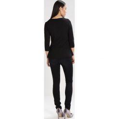 Bluzki asymetryczne: someday. Bluzka z długim rękawem black
