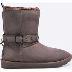 Buty zimowe damskie: Trussardi Jeans - Botki