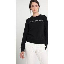 Calvin Klein Jeans INSTITUTIONAL LOGO SWEATSHIRT Bluza black. Czarne bluzy damskie Calvin Klein Jeans, xl, z bawełny. Za 399,00 zł.
