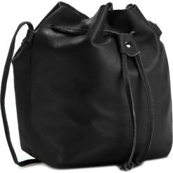 Torebka CREOLE - K10297  Czarny. Czarne torebki worki marki Creole, ze skóry. W wyprzedaży za 99,00 zł.
