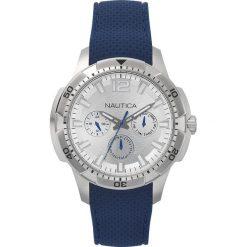 Nautica - Zegarek NAPSDG. Czarne zegarki męskie marki Fossil, szklane. Za 699,90 zł.