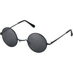 Lennon Okulary przeciwsłoneczne czarny. Czarne okulary przeciwsłoneczne damskie lenonki Lennon, okrągłe. Za 32,90 zł.