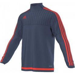 Bejsbolówki męskie: Adidas Bluza treningowa Tiro 15 Granatowa, R. XXL (S27113)