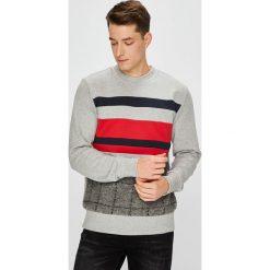 Tommy Hilfiger - Bluza. Szare bluzy męskie rozpinane marki TOMMY HILFIGER, l, z bawełny, bez kaptura. W wyprzedaży za 399,90 zł.