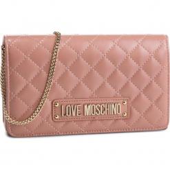 Torebka LOVE MOSCHINO - JC4118PP17LA0600 Rosa. Czerwone torebki klasyczne damskie Love Moschino, ze skóry ekologicznej. Za 479,00 zł.