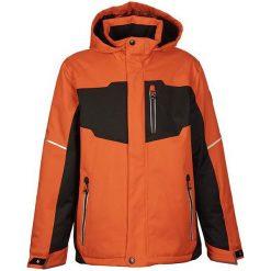 Kurtki chłopięce: KILLTEC Kurtka dziecięca Chris Jr Waterproof 8 000 pomarańczowo-czarna r. 152 (29426152)