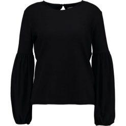 Bluzki asymetryczne: Stefanel Bluzka z długim rękawem black