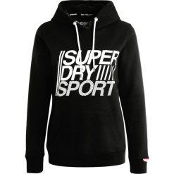 Bluzy damskie: Superdry Bluza z kapturem black