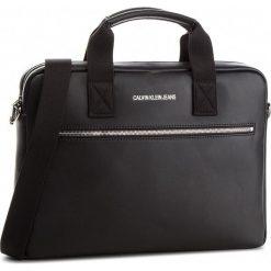 Torba na laptopa CALVIN KLEIN JEANS - Smooth Essential Sli K40K400637 001. Czarne torby na laptopa marki Calvin Klein Jeans, z jeansu. Za 649,00 zł.