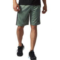 Adidas Spodenki męskie Move Short 3 Stripes M zielony r. XL (BQ3195). Czarne spodenki sportowe męskie marki Adidas, do piłki nożnej. Za 102,82 zł.