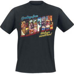 Deadpool Greetings T-Shirt czarny. Czarne t-shirty męskie Deadpool, m. Za 74,90 zł.