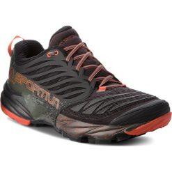 Buty LA SPORTIVA - Akasha 26Y999202 Black/Tangerine. Czarne buty do biegania męskie La Sportiva, z materiału. W wyprzedaży za 539,00 zł.