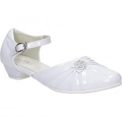 Białe buty komunijne Casu 5KM-129. Białe buciki niemowlęce Casu. Za 59,99 zł.