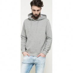 Dickies - Bluza. Szare bluzy męskie rozpinane marki Dickies, z bawełny. Za 219,90 zł.