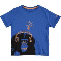T-shirty chłopięce: T-shirt w kolorze niebieskim