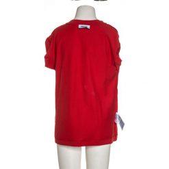 MOSCHINO MAXI Tshirt z nadrukiem poppy red. Czerwone t-shirty chłopięce MOSCHINO, z nadrukiem, z bawełny. Za 189,00 zł.