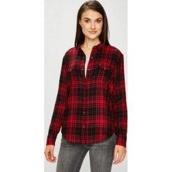 Lee - Koszula. Brązowe koszule damskie Lee, l, z bawełny, casualowe, z długim rękawem. Za 199,90 zł.