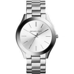Zegarek MICHAEL KORS - Slim Runway MK3178 Silver/Steel/Silver/Steel. Szare zegarki damskie Michael Kors. Za 950,00 zł.