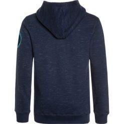 Petrol Industries HOODED Bluza z kapturem dark turquoise. Niebieskie bluzy chłopięce rozpinane marki Petrol Industries, z bawełny, z kapturem. Za 169,00 zł.