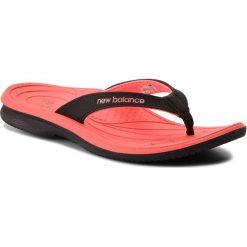 Japonki NEW BALANCE - W6091BKI Czarny. Czerwone crocsy damskie marki New Balance, z gumy. Za 99,99 zł.