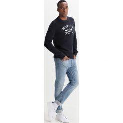 Kardigany męskie: Morris DAVIS ONECK Sweter old blue