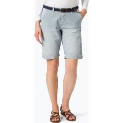 Superdry - Spodenki damskie, niebieski. Niebieskie szorty jeansowe damskie Superdry, w paski. Za 199,95 zł.