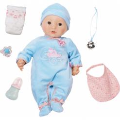 Pajacyki niemowlęce: Zapf Creation Baby Born Annabell Brother Doll 794654