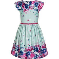 Sukienki dziewczęce: happy girls BORDERPRINT MIT BLUMEN Sukienka letnia ice blue