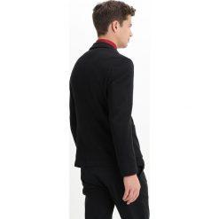 S.Oliver BLACK LABEL Marynarka dark grey melange. Szare marynarki męskie slim fit s.Oliver BLACK LABEL, z bawełny. W wyprzedaży za 454,35 zł.