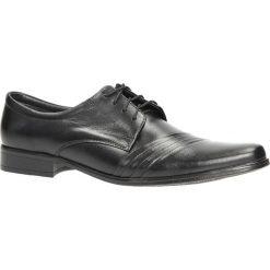 Czarne buty wizytowe skórzane sznurowane Windssor 420. Czarne buty wizytowe męskie Windssor, na sznurówki. Za 159,99 zł.