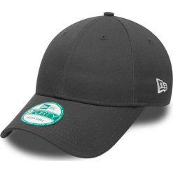New Era - Czapka. Czarne czapki z daszkiem męskie New Era, z bawełny. W wyprzedaży za 49,90 zł.