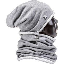 KOMIN MĘSKI A063 - SZARY. Szare szaliki męskie marki Ombre Clothing, z bawełny. Za 14,99 zł.