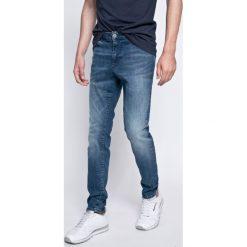Review - Jeansy Jeremy. Niebieskie jeansy męskie skinny Review, z bawełny. W wyprzedaży za 99,90 zł.