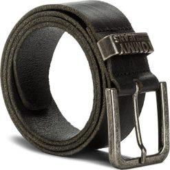 Pasek Męski TOMMY JEANS - Tjm Loop Belt 4.0 AM0AM03364 002. Czarne paski męskie marki Tommy Jeans, w paski, z jeansu. W wyprzedaży za 139,00 zł.