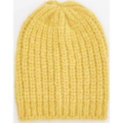 Czapka - Żółty. Żółte czapki damskie Reserved. Za 49,99 zł.
