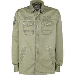 Koszule męskie: GoodYear Roundup Koszula oliwkowy