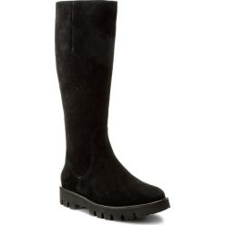 Kozaki HÖGL - 4-102622 Black 0100. Czarne buty zimowe damskie marki HÖGL, z materiału. W wyprzedaży za 489,00 zł.