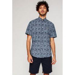 Camel Active - Koszula. Brązowe koszule męskie na spinki marki Camel Active, l, z bawełny, z włoskim kołnierzykiem, z krótkim rękawem. W wyprzedaży za 199,90 zł.